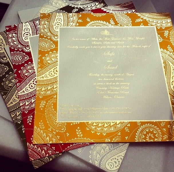 Invitation Envelope is luxury invitations design