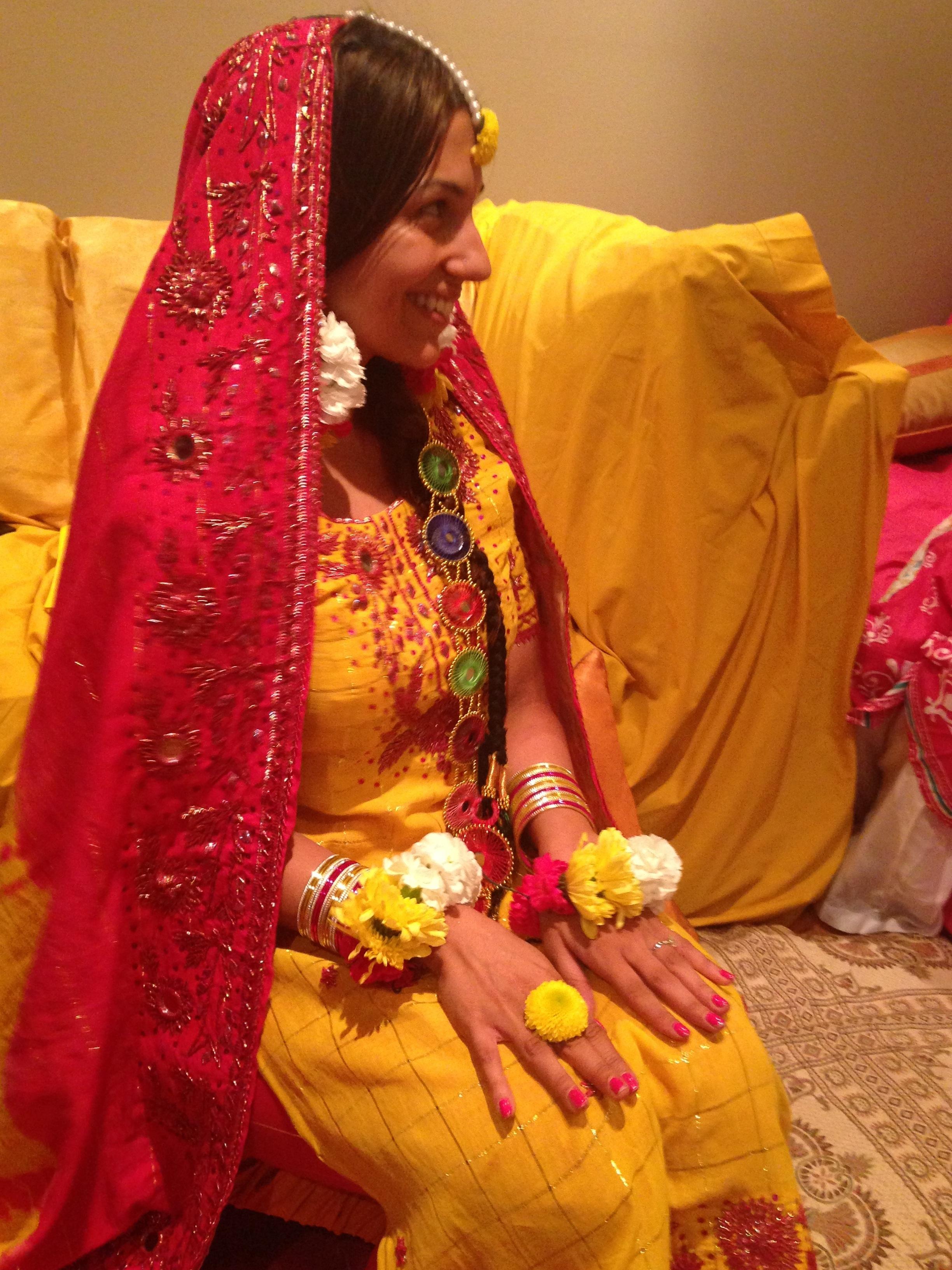 Pre wedding event the mayoun mybigfatpakistani for Pakistani wedding traditions