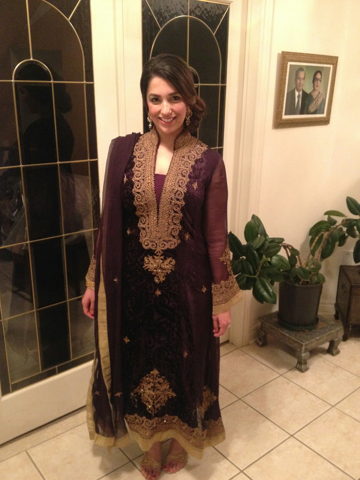 Unstitched Kapray with Kaam (Clothes with embellishment ...